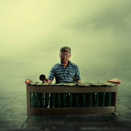 by Ardy Pratikno - Digital Art People ( digital art, old man )