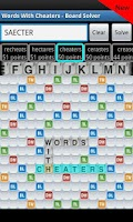 Screenshot of Words With Cheaters Free