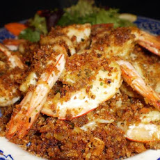 Anthony's Garlic Prawns