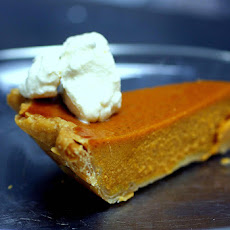 Silky Smooth Pumpkin Pie
