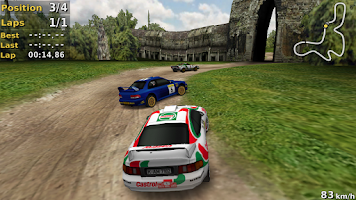 Screenshot of Pocket Rally LITE