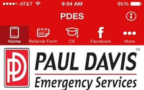 Paul Davis Emergency Services - screenshot