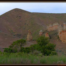 Hoodoo's by Wendy Thorson - Landscapes Caves & Formations