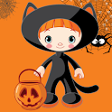 Dress up Halloween icon