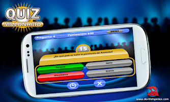 Screenshot of Quiz Millonario