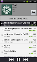 Screenshot of Remote for iTunes DJ & UpNext