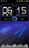 Screenshot of Honeycomb Weather Clock Widget