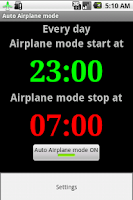 Screenshot of Auto Airplane Mode