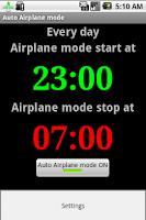 Screenshot of Auto Airplane Mode