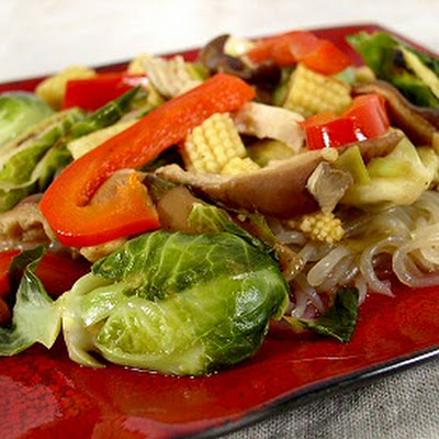 Brussels Sprouts Stir-Fry