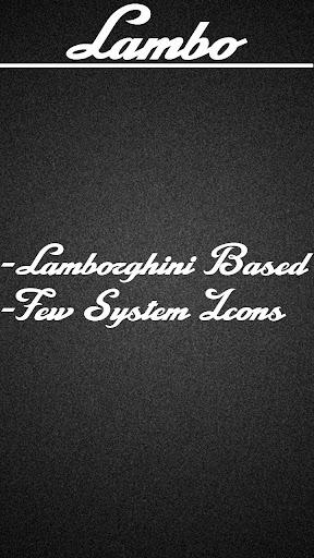 Lambo Icon Pack Free