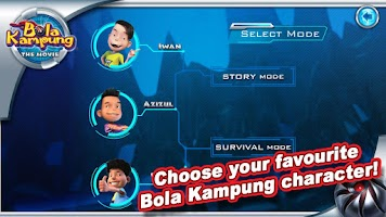 Screenshot of Bola Kampung: RoboKicks