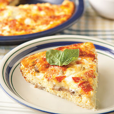 Crustless Pizza Quiche