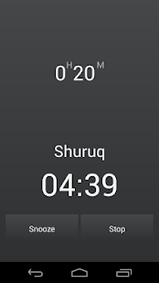 Athanotify - prayer times for Lollipop - Android 5.0