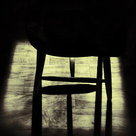 Silhouette of a Chair by Lisa Barnett - Artistic Objects Furniture ( chair silhouette )
