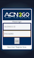 Screenshot of ACN2GO