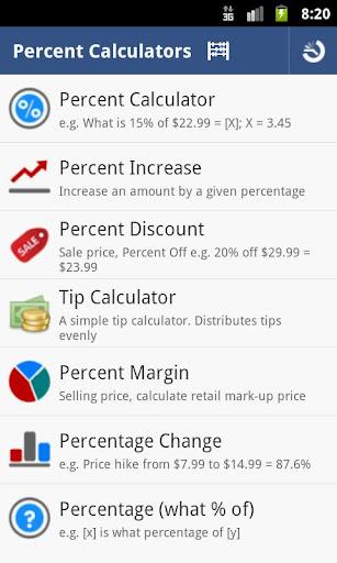 Percent Calculator - Full