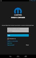 Screenshot of Mopar Owner's Companion