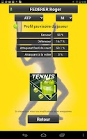Screenshot of QuickPDA TENNIS