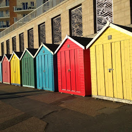 Beach Huts by Simon Darnley - Buildings & Architecture Other Exteriors