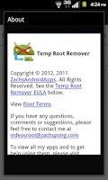 Screenshot of Temp Root Remover (2.1 - 4.0)