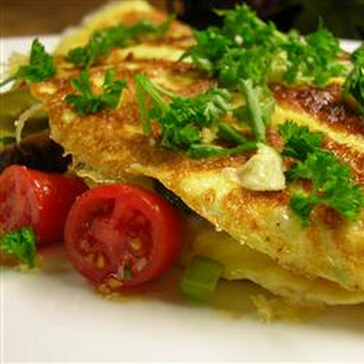 Western Omelet Potato Skins Recipe — Dishmaps