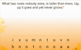 Screenshot of Traditional riddles