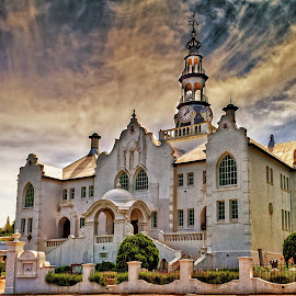 Old Church by John Phielix - Buildings & Architecture Places of Worship ( building, church, sunny, sunset, place of worship,  )