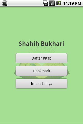 Screenshot #11 of Shahih Bukhari Indonesia / Android