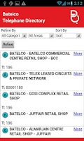 Screenshot of Batelco Directory 181