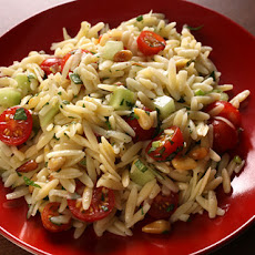 Orzo Salad with Tomatoes and Pine Nuts Recipe