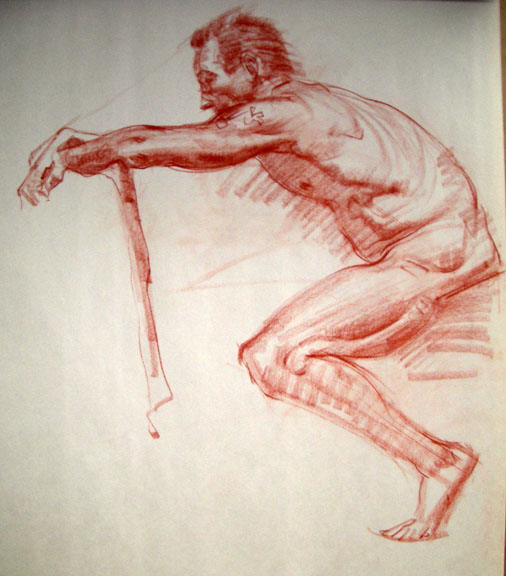 Charles Hu Figure Drawing Lect