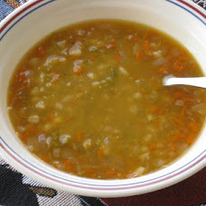 Green Split Pea & Barley Soup