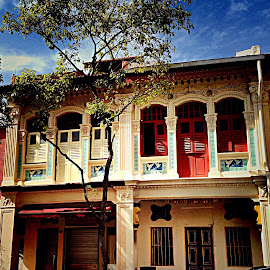 Joo Chiat conservation houses by Janette Ho - Instagram & Mobile iPhone (  )
