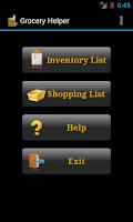 Screenshot of Grocery Helper - Lite