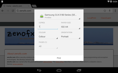 App PrintBot APK for Windows Phone