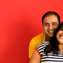 The Couple!!! by Vibhash Awasthi - People Couples