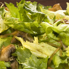 Warm Escarole and Mushroom Salad Recipe