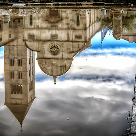 Reflection, Zadar by Cristian Peša - City,  Street & Park  Street Scenes