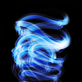 Illusion by Pritha Gupta Buxy - Abstract Light Painting