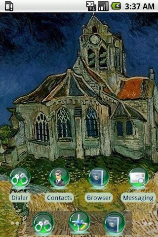 Auvers Church [SQTheme] ADW