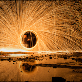 by Jay Rinehart - Abstract Fire & Fireworks