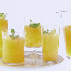 Peach and Basil Frozen Daiquiri
