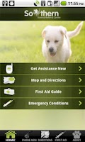 Screenshot of Pet Emergency Assist