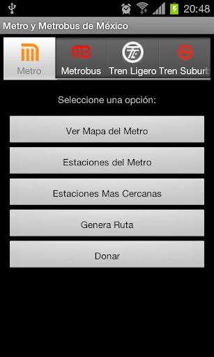 Metro de Mexico Donation