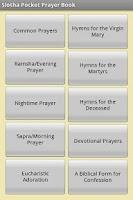 Screenshot of Slotha Pocket Prayer Book