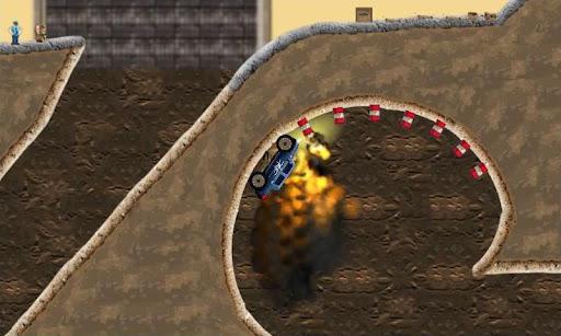 Monster truck Game Rage Truck