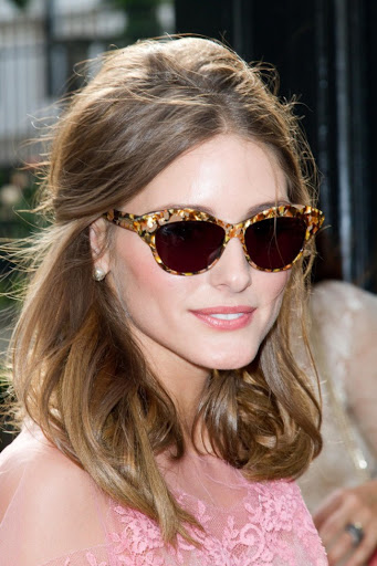 Olivia Palermo in women's sunglasses