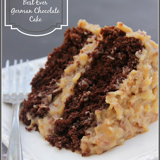 German Chocolate Cake With Chocolate Frosting Recipes