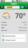 Screenshot of MxVision WeatherSentry®
